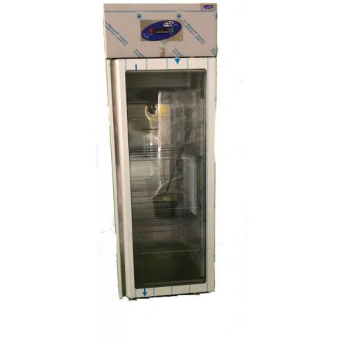 Vertical refrigerado 1 puerta cristal