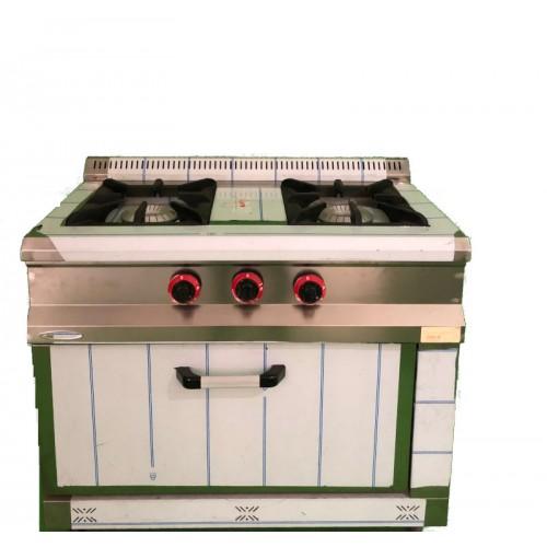 Cocina 2 fuegos con horno