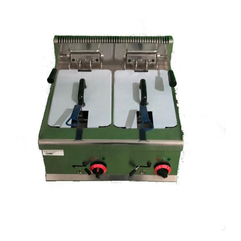 Freidora eléctrica doble
